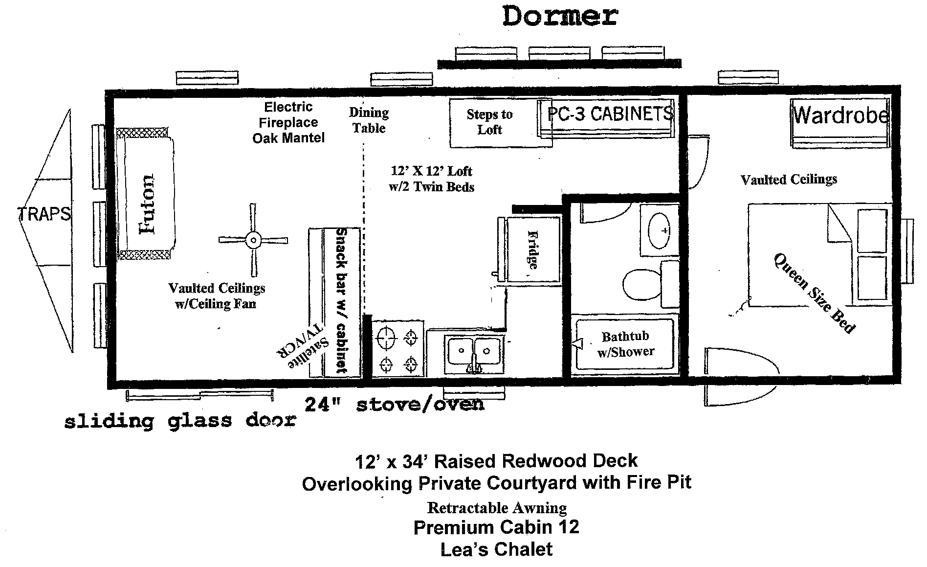 12x24 cabin floor plans archer s poudre river resort for 12x24 cabin floor plans